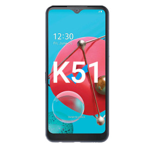 LG K51 LCD with Touch Black