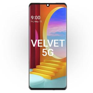 LG Velvet 5G LCD with Touch Black
