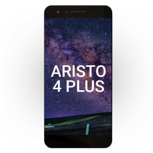 LG Aristo 4 Plus LCD with Touch Black + Frame