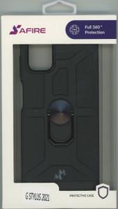 MOTO G STYLUS 2021 MM Ring Stand Black