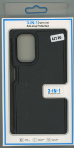 Samsung A32 MM Rugged Case W/Holster Black