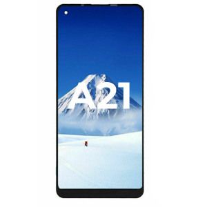 Samsung A21 A215 LCD with Touch Black Best Quality