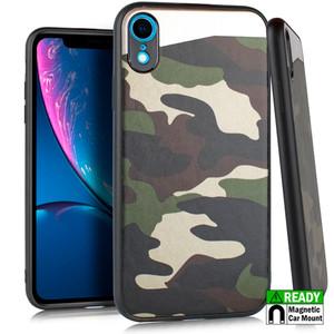 iPhone XR MM Slim Armor Case Camo Design