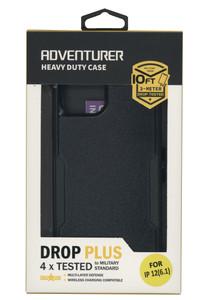 IPhone 12/12 Pro Adventure Case W/ Holster Black