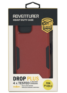 IPhone 12/12 Pro Adventure Case W/ Holster Red