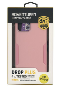 IPhone 12/12 Pro Adventure Case W/ Holster Pink