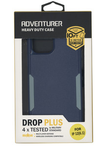 IPhone 12 Pro Max Adventure Case W/ Holster Navy