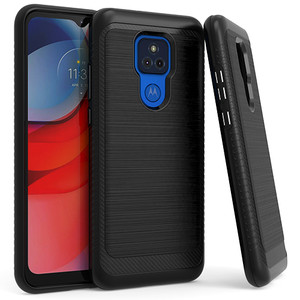 Moto G Play 2021 MM CF Slim Metal Case Black