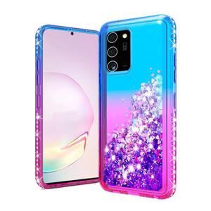 Samsung A32 MM Water Glitter Purple & Blue