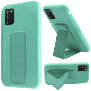 Samsung A02s Foldable Magnetic Kickstand Vegan Case Teal