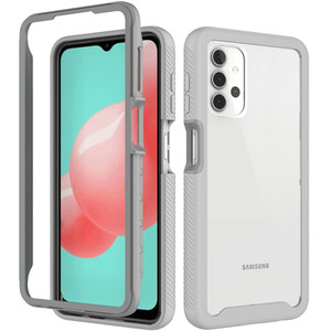 Samsung A02s Shockproof Heavy Duty Bumper Case Clear