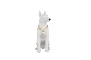 M216 Labrador Dog Bluetooth Speaker White