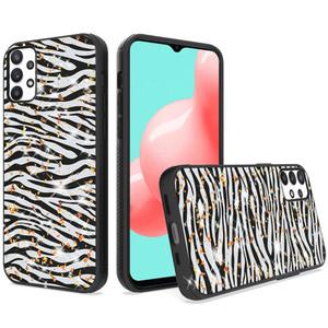 Samsung A32 5G MM Marble Design Case Zebra