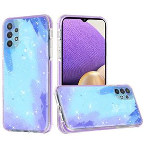 Samsung A32 5G MM Epoxy Glitter Case Sky Blue
