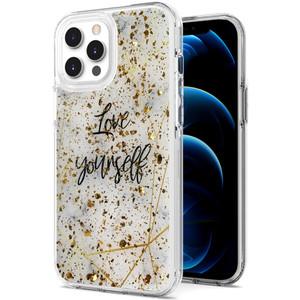 iPhone 11 MM Epoxy Glitter Design Love Yourself