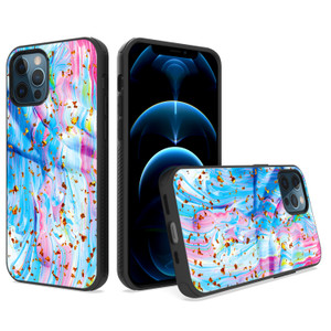 iPhone 11 MM Epoxy Glitter Design Sky Blue