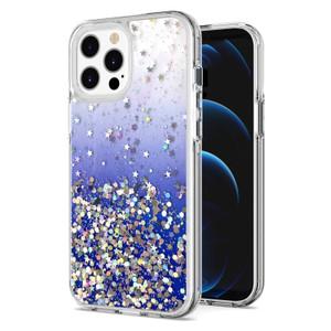 iPhone 11 MM Epoxy Glitter Case Blue