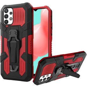 Samsung A32 5G MM Metal Opener Kick Stand Case Red