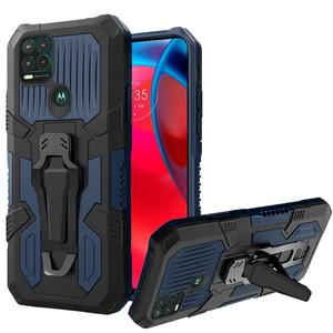 Motorola G Stylus 5G MM Metal Opener Kickstand Case Navy