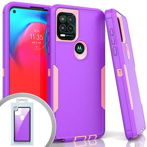 Moto G Stylus 5G MM Commander Case Purple