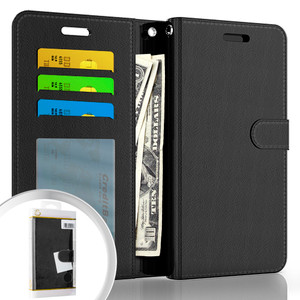 Moto G Stylus 5G MM Folio Wallet Black