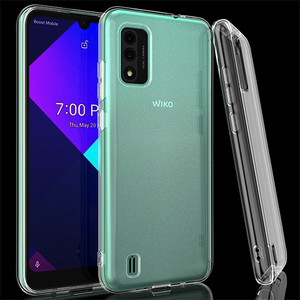 Wiko Ride 3 Crystal Skin Case Solid Clear