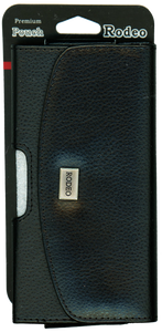 Samsung S7/S6/S6 EDGE/S5/S4/S3 Leather Pouch Metal Logo With Case