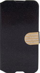 Alcatel Idol 3 5.5 Glitter Bling Wallet Black