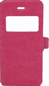 IPhone 5/5S/SE Caller ID Flip Wallet Pink