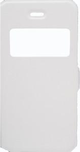 IPhone 5/5S/SE Caller ID Flip Wallet  White