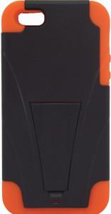 IPhone 5/5S Kickstand Black & Orange