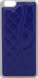 Iphone 6/6S PLUS Quilted Leather Bumper Blue