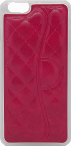 Iphone 6/6S PLUS Quilted Leather Bumper Red
