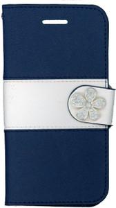 Iphone 6/6S MM Flower Wallet Navy