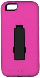 Iphone 6/6S Armor Horizontal  With Kickstand Pink