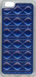 Iphone 6/6S Argyle Leather Blue