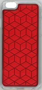 Iphone 6/6S Argyle Bumper Red