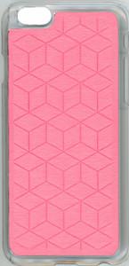 Iphone 6/6S Argyle Bumper Pink