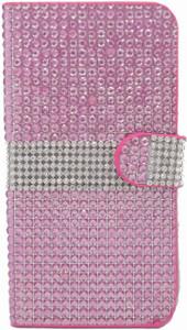 iphone 6 Plus/6S Plus Full Bling Wallet Pink