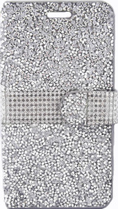 Samsung Note 5 MM Jewel Wallet Silver