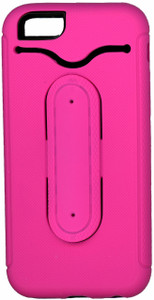 iphone 6/6S Snap Tail Hybrid Case With Kickstand Pink