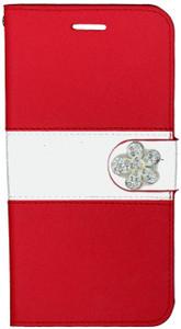 Iphone 6 Plus/6S PLUS MM Flower Wallet Red