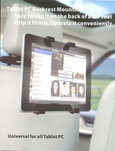 Tablet HeadRest mount  7-10 inch compatablee
