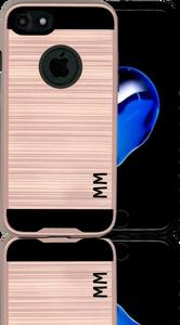 iphone 8/7 MM Slim Dura Metal Finish Rose Gold