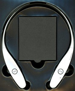 Around the Neck 9000 Wireless Headset Silver