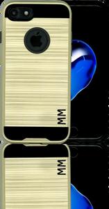 iphone 8/7 MM Slim Dura Metal Finish Gold