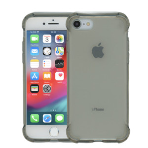 iphone 8/7 Clear Case  With Air Cushion Smoke