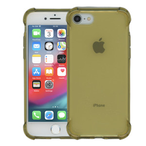 iphone 8/7 Clear Case With Air Cushion Gold