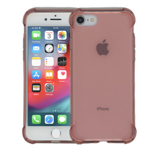 iphone 8/7 Clear Case  With Air Cushion Hot Pink