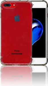 iphone 7 PLUS/8 PLUS Clear Case With Air Cushion Smoke